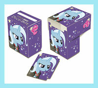 MY LITTLE PONY TRIXIE DECK BOX NEW Ultra Pro Card Storage Protector Case 84285
