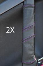 FITS VECTRA C 2X DOOR HANDLE COVERS purple stitch