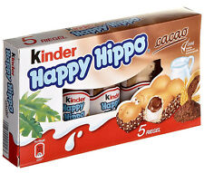 2 x Kinder Happy Hippo (= 2 x 135g) **Made in Germany**   FREE SHIPPING