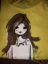 New Girls Size 4 Yellow Children's Place Top NWT $12.95 Value