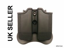 IMI style double polymère Mag Holster H&K USP COMPACT (9/40); Ruger sr9; STEYR M