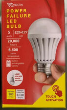 Voltix Emergency Power Out Failure LED Light Bulb Built-In Rechargeable Battery