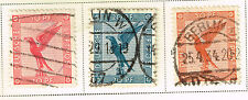 Germany Airmail Eagle rare stamps 1934