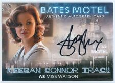 "KEEGAN CONNOR TRACY ""MISS WATSON AUTOGRAPH"" BATES MOTEL SEASON 1"