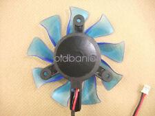 75mm VGA Fan  Zunshan DF0801512LFG2C Compatible HIS 6850 6770 7750 Video Card
