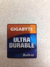 Gigabyte Motherboard Ultra Durable Case Badge Sticker Logo