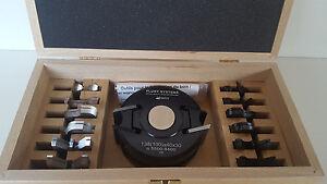 Universal Messerkopfsatz 40 mm von Flury-Systems 29-tlg. Neu KEIN IMPORT