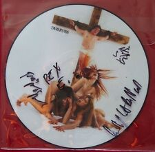 Autographed Picture Disc LP - Dwarves, F*ck You Up And Get Live + DVD MINT