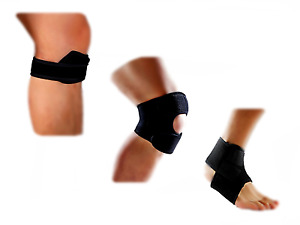 NEW Runner's Knee Strap, Knee Brace & Ankle Strap for Recovery and Injury (ST7)