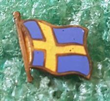 SWEDEN FLAG  - OLD PIN BADGE