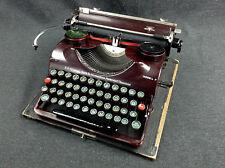alte Groma Modell N Reise Schreibmaschine typewriter Deko Shabby Loft Industrial