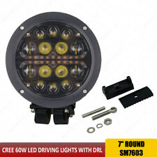 1pc Round 7 inch 60W CREE led driving lights 12V 4x4 Led Spotlights for Suv Car