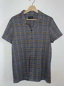 Boohoo Checked Short Sleeve Summer Shirt