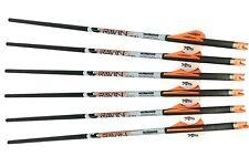Ravin Crossbow Xbow Archery Bolts w/ Orange Nock .001 Straightness 6 Pack - R139