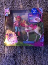 Barbie & Her Sisters in A Pony Tale - CHELSEA & Pony Horse Doll Set 🌟VHTF NEW🌟