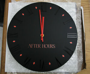 The Weeknd After Hours Wall Clock - Limited Edition-