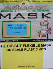 Eduard 1/48 EX274 Canopy Mask for the Tamiya F-16CN Fighting Falcon kit