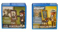 PLAYMOBIL ® 70455 Rembrandt 70475 Vincent Van Gogh neuf - new