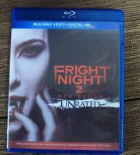 FRIGHT NIGHT 2: NEW BLOOD BLU-RAY vampire horror unrated w/DVD