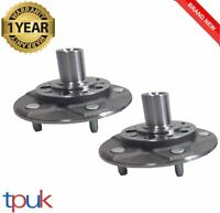 FORD TRANSIT MK6 A PAIR OF FRONT WHEEL HUB & STUDS 2000-2006 SINGLE REAR WHEEL