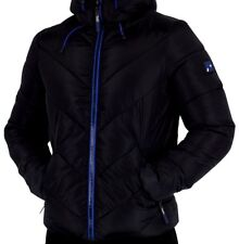 Superdry Men's Xenon Quilted Padded Jacket Black Sizes: M - XXL