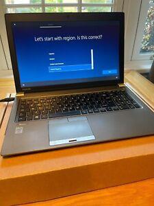 Toshiba Tecra Z50-A, Intel Core i5, 128GB SSD, Backlit Keys, Windows 10 Pro