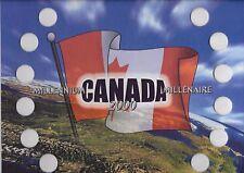 Uni-safe Canada 2000 Millennium 25¢ Coin Board $2.99 (M00FLO)