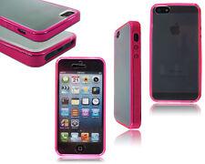 Neue stilvolle Slim Vorne Rücken Stoßstange Handy Tasche Cover Apple iPhone 4 4S 5 5S 5C
