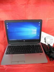 HP ProBook 655 G1 Windows 10 Pro 256GB SSD