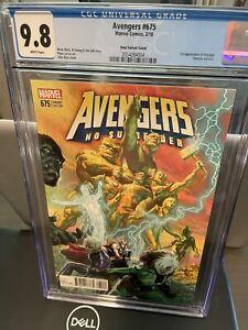 Avengers #675 CGC 9.8 1:100 Ross Variant 1st appearance Voyager
