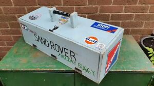 Vintage Wooden Carry Case Box for Tamiya Sand Rover Radio Control Car
