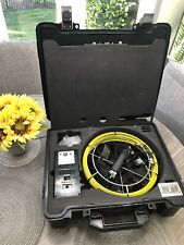 Rotobrush Roto Vision Video Inspection System With Camera Power Supply Case