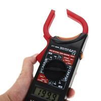 DT-266 AC/DC Electronic Tester Digital Clamp Voltage Meter Amperage +Test Probe