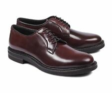BRUNELLO CUCINELLI Shell Cordovan Leather  Derby Shoe US 9 EU 42 NEW BB98 2200$