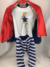 Pottery Barn Kids Halloween costume baby superhero super hero 6-12 Months NWT