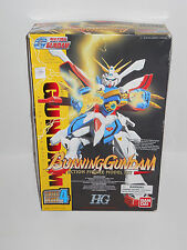 Burning Gundam Action Figure Model Kit 1/100 scale  Bandai 1994 ~ Unbuilt ~