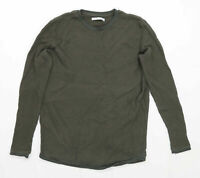Bershka Mens Size M Green Jumper