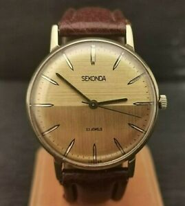 Gents Vintage Sekonda Watch. USSR. 23 Jewels