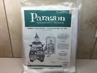 Vintage Paragon Needlecraft Bubble Clown Catchall Bag Felt  Kit 0357