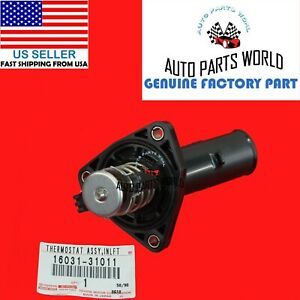 GENUINE TOYOTA 4RUNNER TACOMA TUNDRA 4.0L WATER INLET W/THERMOSTAT 16031-31011