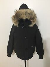 Women's CANADA GOOSE Chilliwack Fur Trim Bomber Jacket, 7999L, Medium, Black