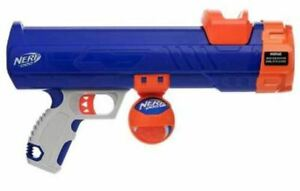 Nerf Dog Tennis Ball Blaster Cannon with Nerf Ball Play Chase Fetch Mini / Large
