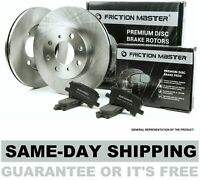 Front Brake Rotors and Pads fits 2005 2006 2007 2008 HYUNDAI TUCSON BK1740-3