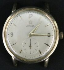 Vintage 1951 Omega Automatic Bumper Cal. 342 17 Jewels 14K Y/G Wrist Watch