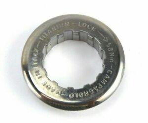 Campagnolo Record Titanium Cassette Lockring - 27mm CS-101T