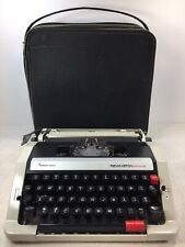 Vintage Remington Performer Typewriter Sperry Rand  Small Portable Case