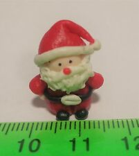 1:12 Polymer Clay Santa Claus Father Christmas Dolls House Miniature