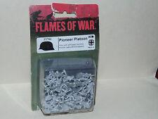 WWII Miniatures Game Flames of War FI706 Pioneer Platoon