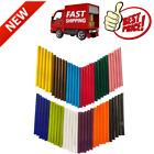 Colored Hot Glue Sticks Baffo 12 Colors 60PCs EVA Mini Size Color Hot Melt Adhe