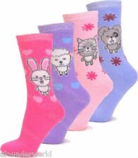 3 Pairs Ladies Animal Design Thermal Socks Warm Winter Extra Thick Hiking Boot